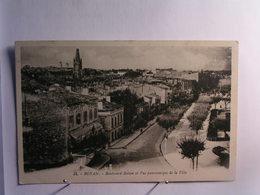 Royan - Boulevard Botton Et Vue Panoramique De La Ville - Hotel Victoria - Royan