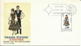 ESPAÑA SPD TRAJES TIPICOS ZAMORA - 1931-Hoy: 2ª República - ... Juan Carlos I
