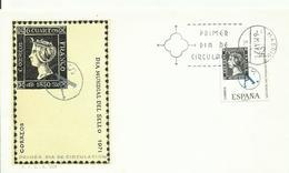 ESPAÑA SPD DIA MUNDIAL DEL SELLO - 1931-Hoy: 2ª República - ... Juan Carlos I