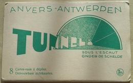 ANVERS  ANTWERPEN    CARNET   8  VUES   SOUS  L  ESCAUT - Antwerpen