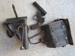 WWII FLARE-GUN GERMAN SET,  LANCE-FUSEES ALLEMAND LOT COMPLET - 1939-45