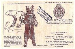 Pa V A/Buvard Vélin D Angoulême  (4) (N=2) - Stationeries (flat Articles)