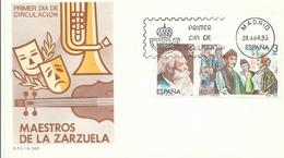 ESPAÑA SPD MAESTROS DE LA ZARZUELA - 1931-Hoy: 2ª República - ... Juan Carlos I
