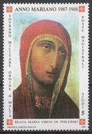 SMOM 1988 Sas# 281** MARIAN YEAR - Malte (Ordre De)