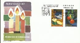 ESPAÑA SPD  NAVIDAD 1987 - 1931-Hoy: 2ª República - ... Juan Carlos I