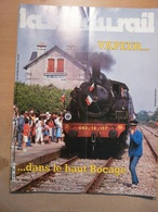 Vie Du Rail 1999 1985 Montagne Sur Sèvre  Puy Du Fou Saint Gingolph Cholet Fontenay Gare Des Epesses - Trains