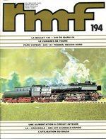 Rail Miniature Flash (RMF) N° 194de Juillet-août 1979 - Trains