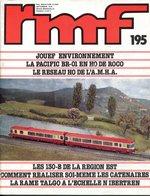 Rail Miniature Flash (RMF) N° 195 De Septembre 1979 - Trains