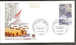 FDC  1969   6 JUIN 1944 - 1960-1969