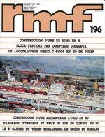 Rail Miniature Flash (RMF) N° 196 De Octobre1979 - Trains