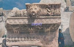 CPSM 9X14  Du LIBAN - PIECE De CORNICHE De La COLONNADE Du TEMPLE De JUPITER  - - Lebanon
