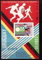 Uruguay-1974,(Mi.Bl.),  Football, Soccer, Fussball,calcio,MNH - 1974 – Germania Ovest