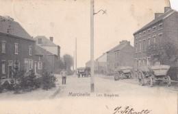 Marcinelle Les Bruyères Circulée En 1905 - Charleroi