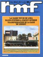 Rail Miniature Flash (RMF) N° 199 De Janvier 1980 - Trains