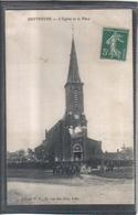 Carte Postale 59. Zuytpéene  église Et La Place Très Beau Plan - Autres Communes