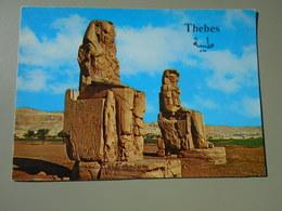 EGYPTE THEBES LES COLOSSES DE MEMMON - Egypt