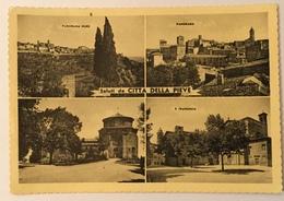 SALUTI DA CITTA' DELLA PIEVE - VEDUTA - VIAGGIATA FG - Perugia
