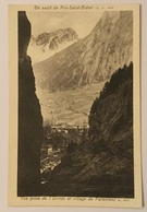 UN SALUT DA PRÈ SAINT DIDIER - PALLESIEUX 1927 VIAGGIATA FP - Altre Città