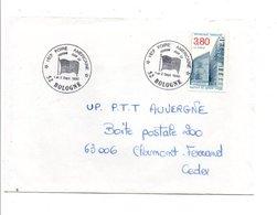 OBLITERATION 1 ERE FOIRE AMERICAINE CUSTOM CLUB 52 à BOLOGNE HAUTE MARNE 1990 - Postmark Collection (Covers)