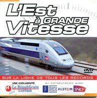 """DVD """"L'Est à GRANDE Vitesse) - Ferrovie"""