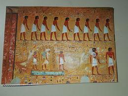 EGYPTE THEBES TOMBE DE SETHI I LE DIEU KNOUM SUR LA BARQUE SACRE - Egypt