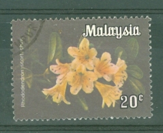 Malaysia - Federated Territory: 1979   Flowers  SG K6    20c   Used - Malaysia (1964-...)