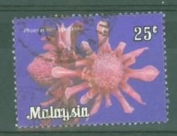Malaysia - Federated Territory: 1979   Flowers  SG K7    25c   Used - Malaysia (1964-...)