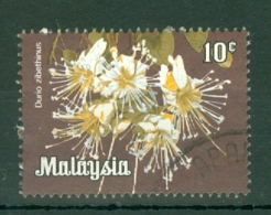 Malaysia - Federated Territory: 1983/85   Flowers   SG K11    10c  [no Wmk]   Used - Malaysia (1964-...)