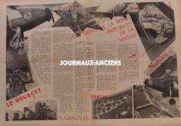 1934 AIR FRANCE - TENNIS FRANCE AUSTRALIE - CYCLISME CHAMPIONNAT DE FRANCE - SAINT ASPAIS DE MELUN - 24 H DU MANS - Books, Magazines, Comics