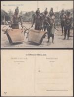 Congo Belge 1910 - Carte Postale Nr. 117.  Tambours Des Wasongola.   Ref. (DD)  DC0248 - Congo Belge - Autres