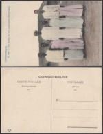 Congo Belge 1910 - Carte Postale Nr. 129.  Un Arabe Et Son Personnel (Manyema).   Ref. (DD)  DC0260 - Congo Belge - Autres