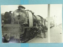 Charleroi Carte Photo Locomotive En Très Gros Plan - Charleroi