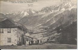 Chamonix - Pavillon Du Prairion (1 860 M) - Vue Sur La Vallée De Chamonix - France
