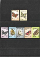 AZERBAIJAN 2009-10. Standard Edition Butterflies .2009- 2 St. - 2010- 5 St. - Azerbaiján