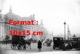 Reproduction D'une Photographie Ancienne De Taxis Parisien En 1908 - Reproductions