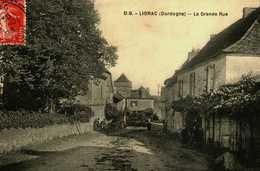 24....Dordogne...liorac....la Grande Rue - France