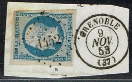 B5- N°10 Grenoble Isère Sans Defaut - 1852 Louis-Napoleon