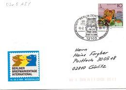 "BRD Amtlicher GZS-Umschlag USo 5AIY, Sonderstempelbeleg ""100 Jahre Berliner Operette-Frau Luna"" SSt BERLIN, 18.2.1999 - BRD"