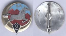 Insigne Du 2e Régiment De Spahis Algériens - Army