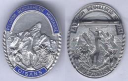 Insigne Du Peloton De Gendarmerie De Montagne D'Oisans - Police