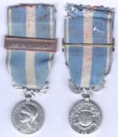 Médaille Coloniale - Barette Maroc - France