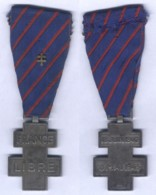 Médaille Commémorative Des Services Volontaires Dans La France Libre - Francia