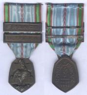 Médaille Commémorative Guerre 1939 / 1945 - Barette France Et Libération - France