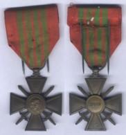 Médaille Croix De Guerre 1939 - France