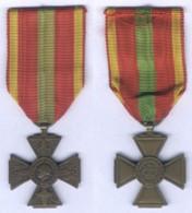 Médaille Croix Du Comabattant Volontaire 1939 -1945 - France