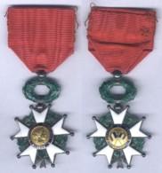 Médaille De Chevalier De L'Ordre De La Légion D'Honneur - IIIe République Avec Diplôme - France