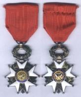 Médaille De Chevalier De L'Ordre De La Légion D'Honneur - IVe République - France