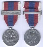 Médaille De La Défense National Echelon Argent Barette Légion Etrangère - France