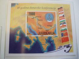 YUGOSLAVIA 1988 40 YEARS DABNUBE CONFERENCE   MNH** (S17-NVT) - Idées Européennes