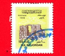 GIORDANIA - Usato - 1996 - Architettura - Arco Di Trionfo Di Adriano - Hadrian's Triumphal Arch, Jerash - 100 - Giordania